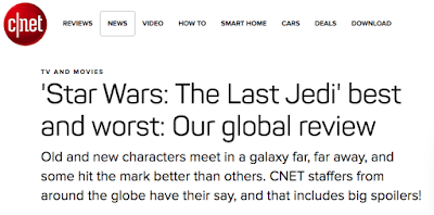 'Star Wars: The Last Jedi' best and worst: c|net global review