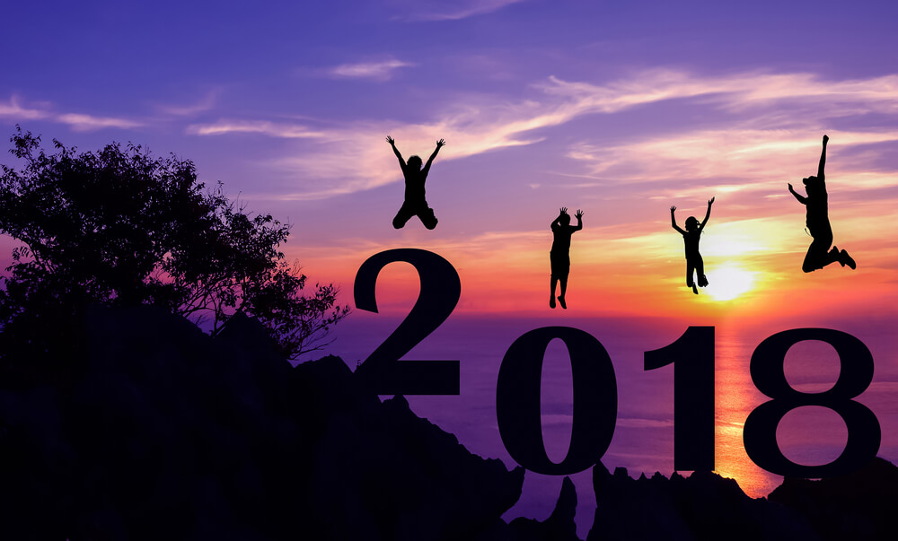 New Year 2018 Images in Advance