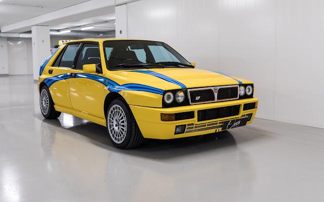 1994 Lancia Delta Integrale Gallo Edition for sale at Ove's Garage for EUR 68,000 - #Lancia #Delta #Integrale #tuning #for_sale