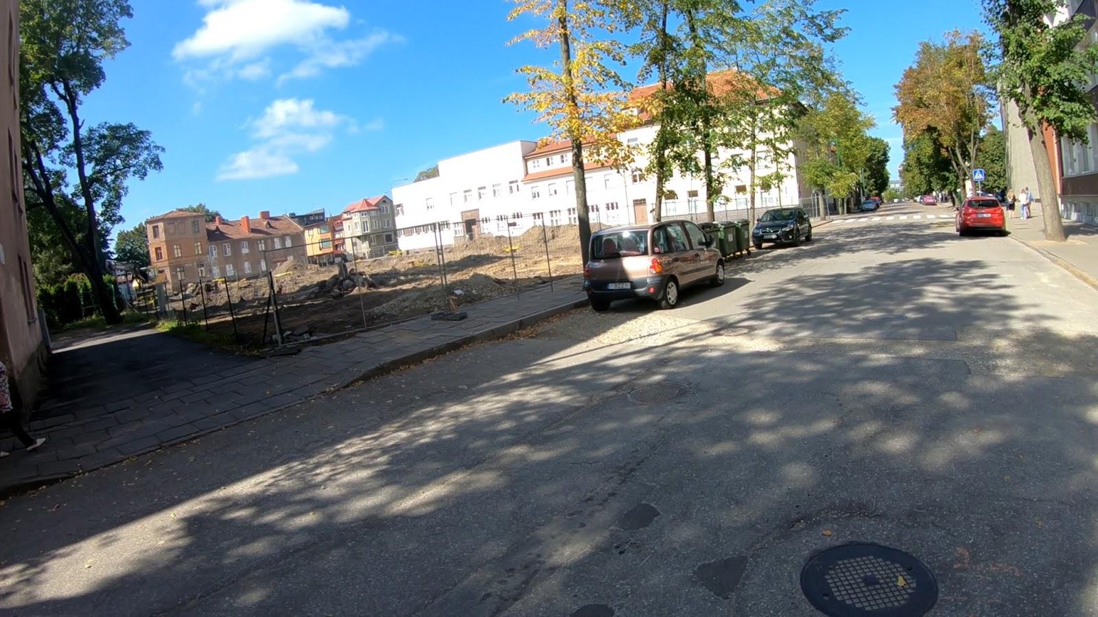 Обновится сквер Vydūno между улицами  Bokštų и Puodžių