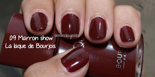 esmalte uñas marron show bourjois
