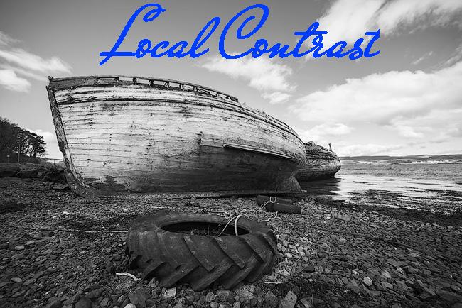 Локальная коррекция контраста в Фотошоп