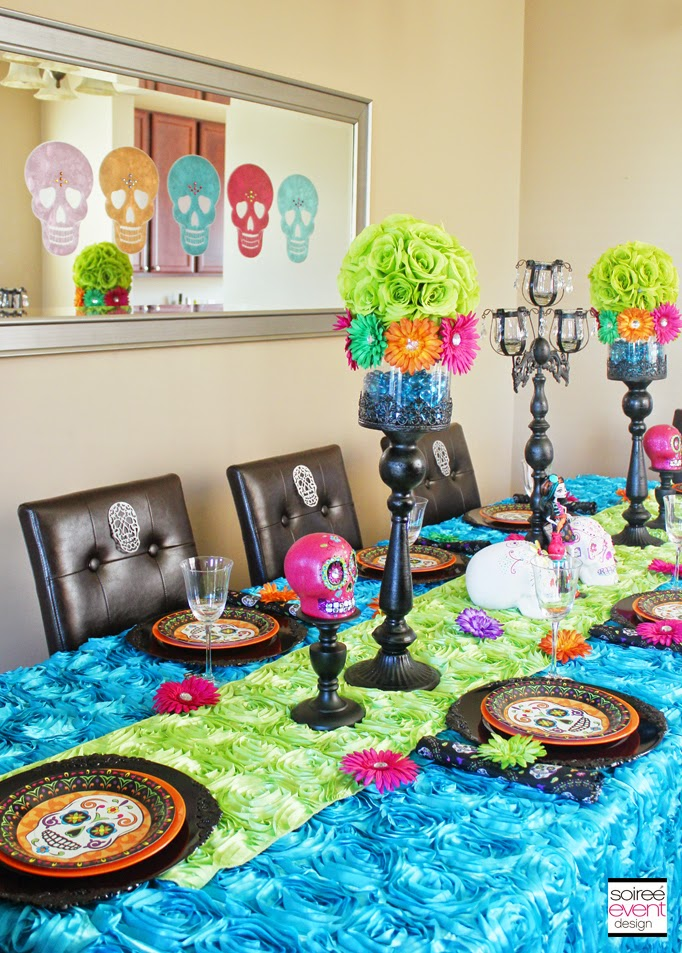 Mexican Sugar Skulls Decorations