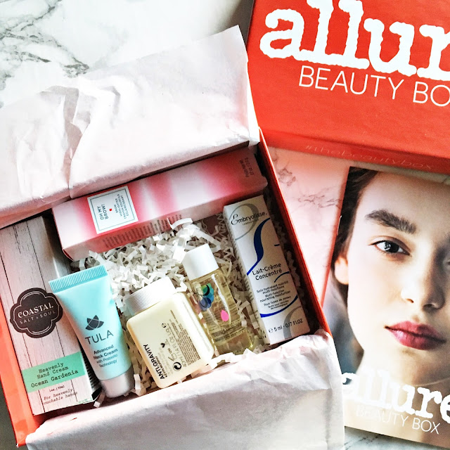 allure beauty box december 2016