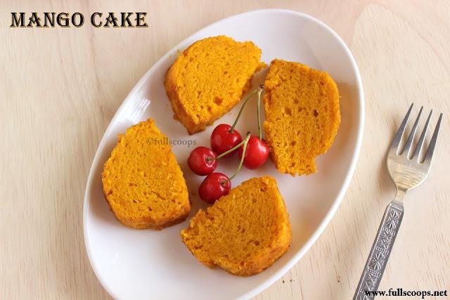 Eggless Vanilla Bundt Cake