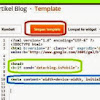 Membuat Template Blogger Responsive