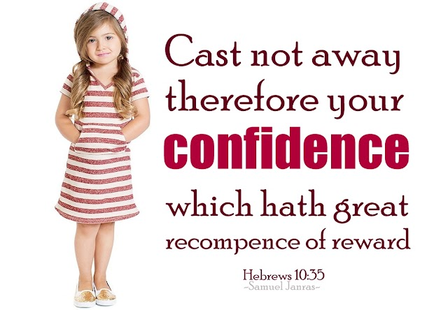 Confidence Bible Verse Wallpaper
