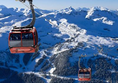 Estação de esqui de Whister - Canadá