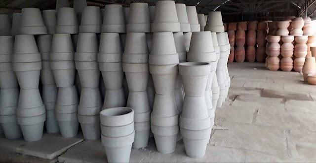 Sôi động làng gốm ở ngoại ô TP Vĩnh Long