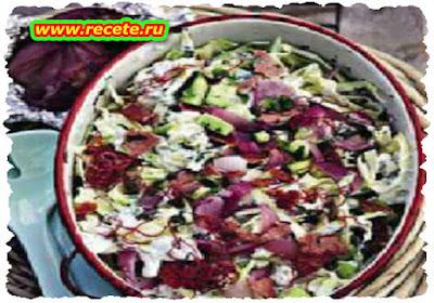 Tzatziki coleslaw