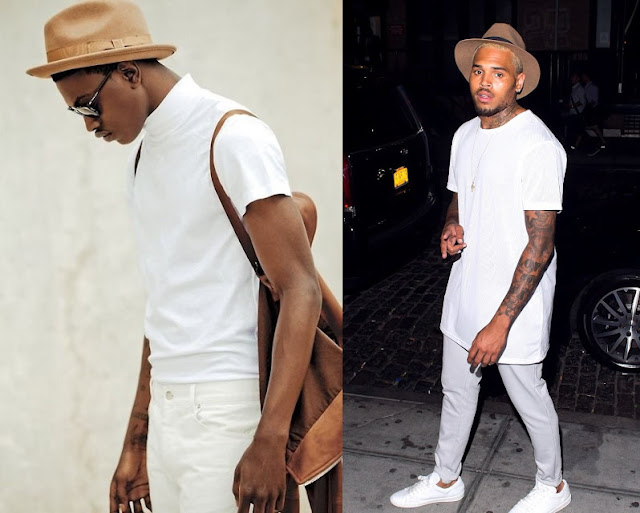 look masculino monocromatico all White (1)