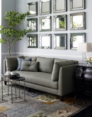 Pamba Boma: Living Room Dcor: Using Wall Mirrors