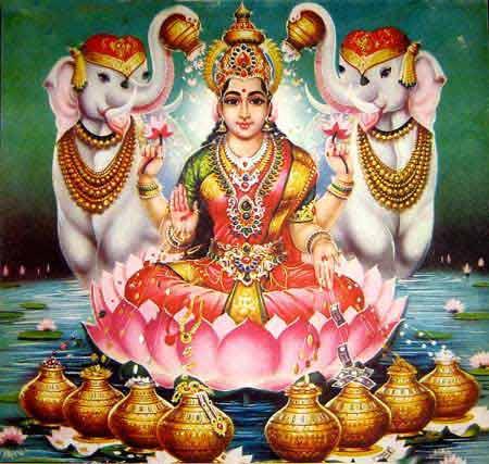 Worship of Maa Lakshmi on Full Moon Night
