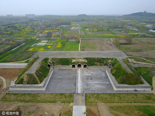 Ming Dynasty bridge unearthed in eastern China's Anhui