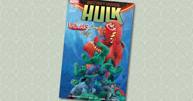 Secret Wars Sonderband 2 Hulk Panini Cover