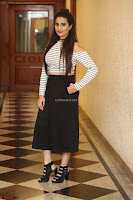Manjusha in sleevelss crop top and black skirt at Darshakudu pre release ~  Exclusive Celebrities Galleries 106.JPG