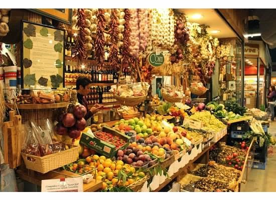 Food markets of Italy