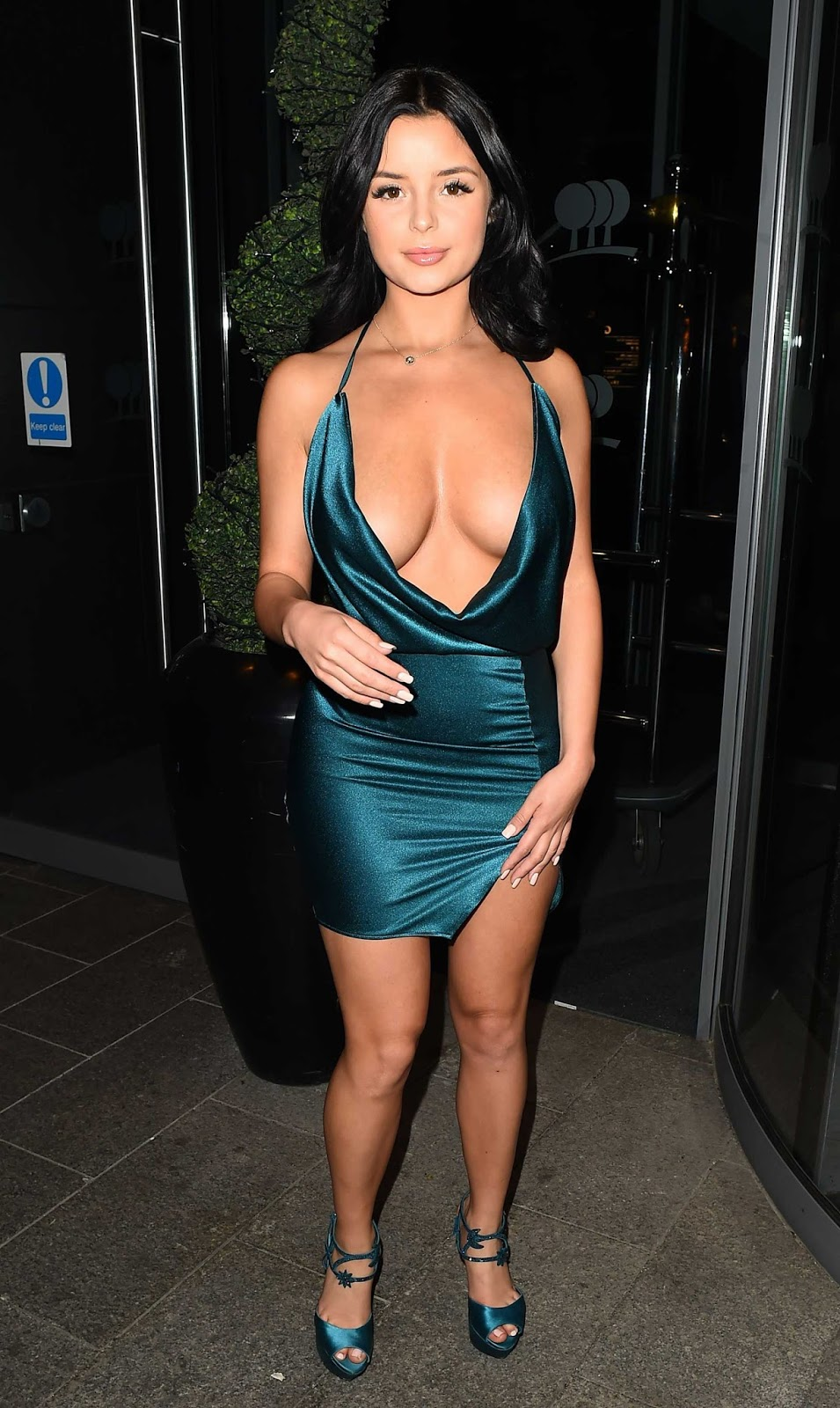 Demi Rose flaunts pert derriere during birthday celebrations in London