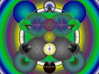 Electro Magnetic Field Merkaba, Simbol Geometri Suci