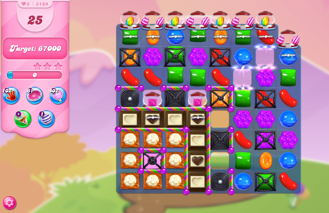 Candy Crush Saga level 5124