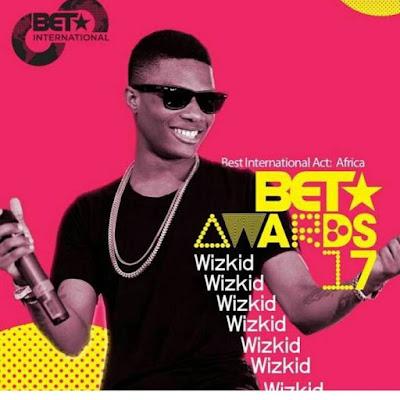 Wizkid Beats Davido, Mr Eazi, Tekno To Win The 2017 BET Best International Act, Africa