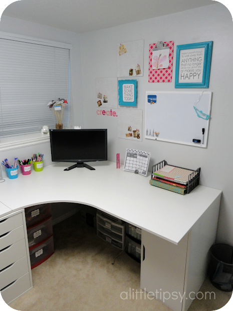 Craft Room Reveal - Little Tipsy