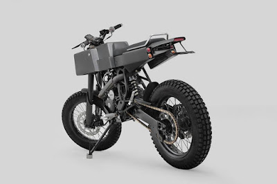 "Yamaha Scorpio ""T 005"" by Thrive Motorcycle"