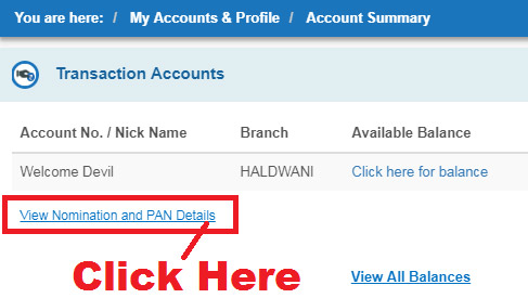 how to know cif number of sbi account online