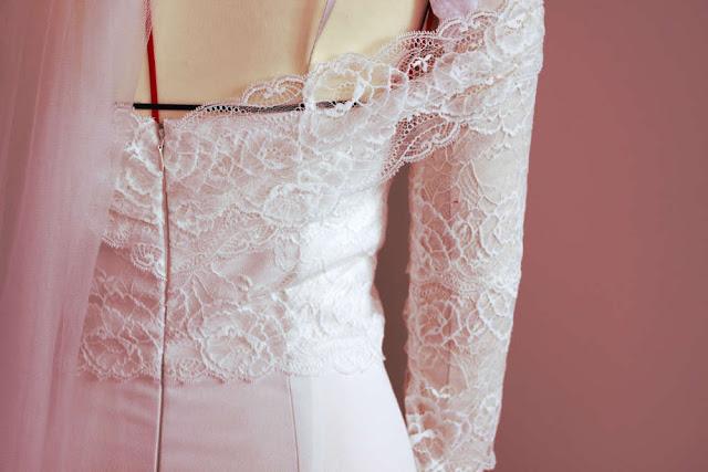 robe de mariée de rêve sur mesure à Versailles