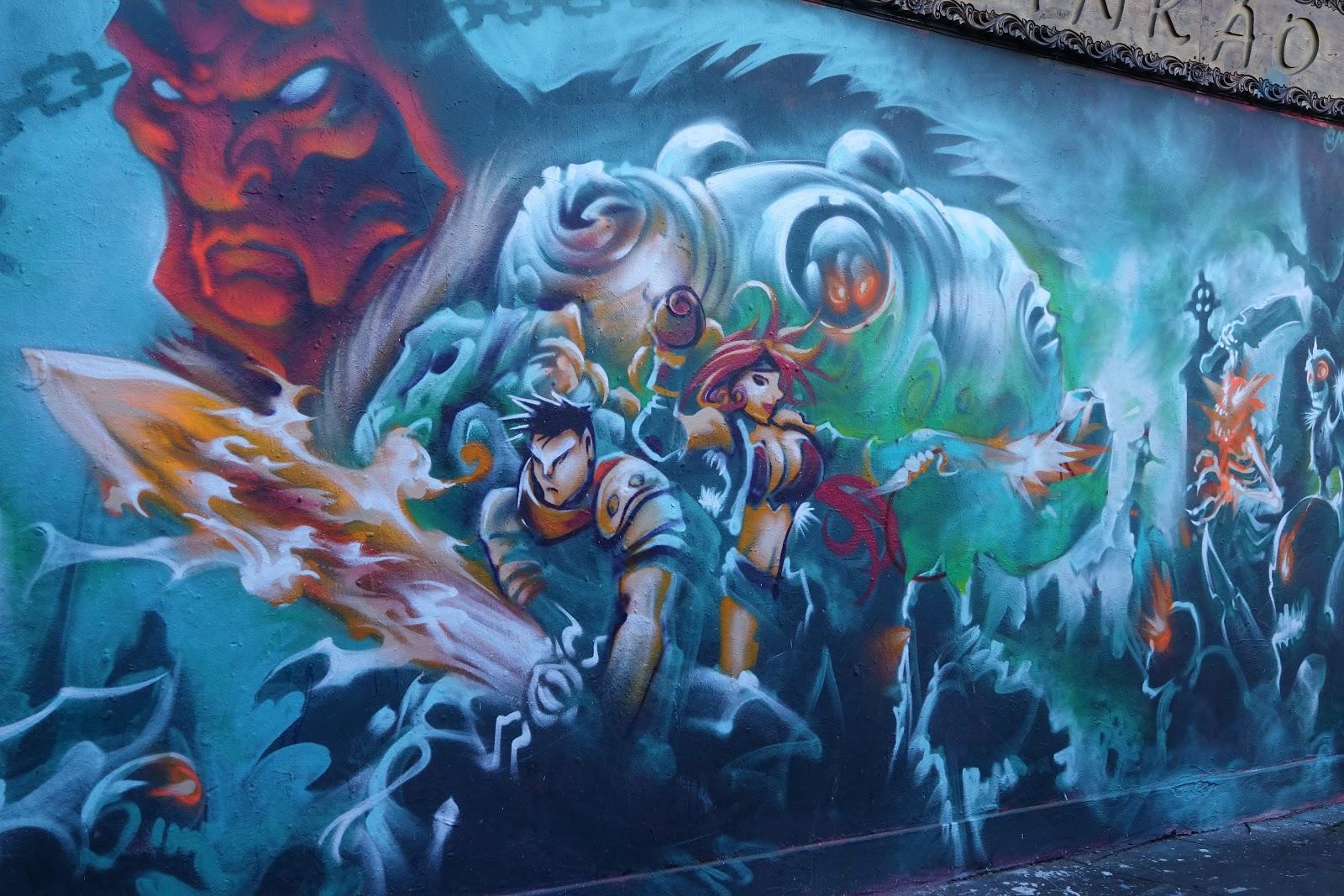 Amazing Graffiti Of Shoreditch London Anset2000 Blog