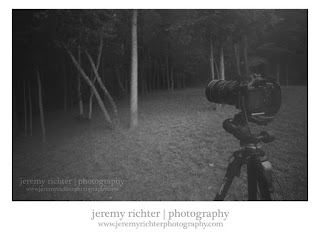 Photographing at Village Creek