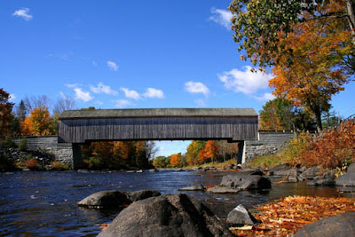 Covered Bridge Lowe's Covered Bridge © Copyright Maine Office of Tourism