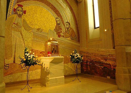 Jedna z kaplic bocznych przy kościele górnym.
