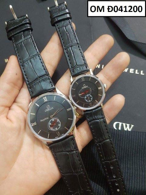 Đồng hồ dây da OM Đ041200