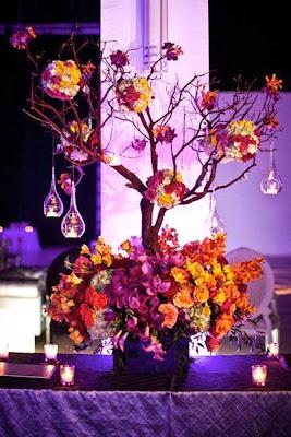 fall wedding decor centerpieces