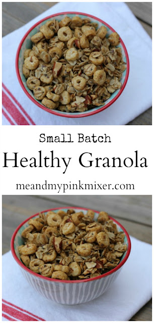 Small Batch Healthy Granola