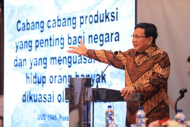 Prabowo Kedepankan Model Kampanye Bernilai Pancasila