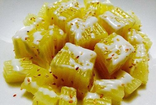Thạch rau câu đậu xanh cốt dừa