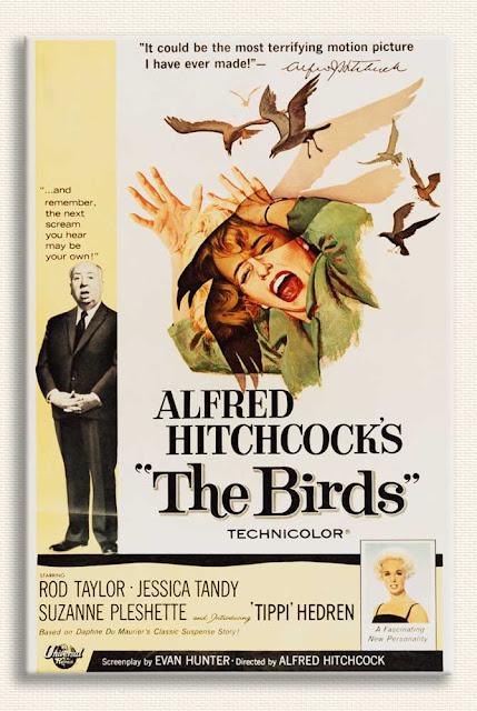Alfred Hitchcock Kuşlar Film Afişi