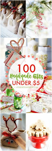100 gifts to make for less than $5