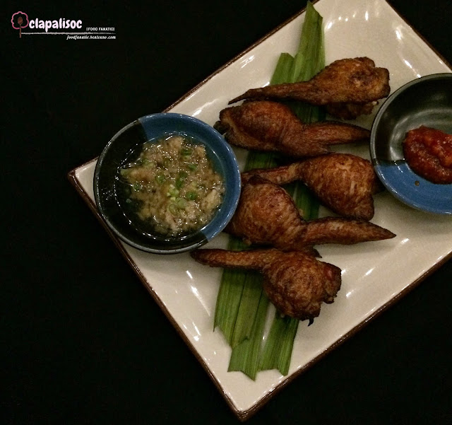 Hainanese Rice Stuffed Chicken Wings from Nomads Makati