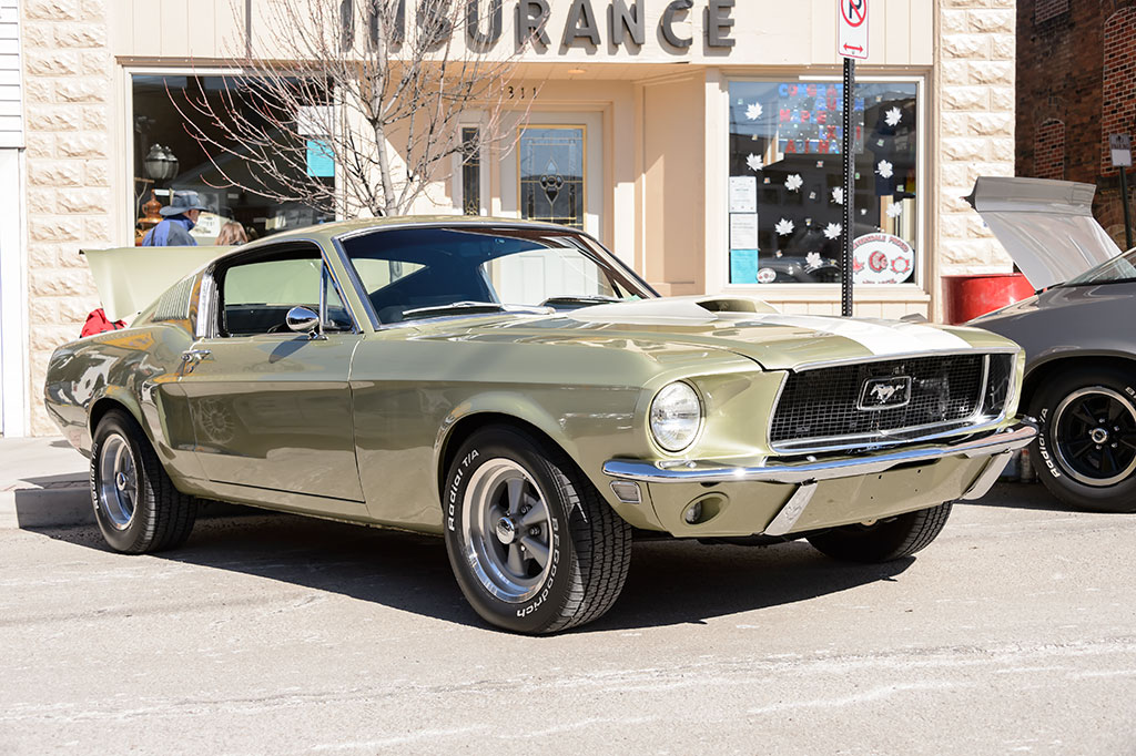 Fred Yutzey's 1968 Mustang