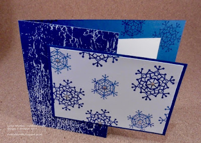 Snowflakes, Christmas, Colorful Seasons, fun fold