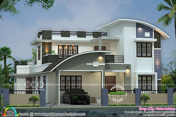 2870 square feet modern mix home ₹52 Lakhs