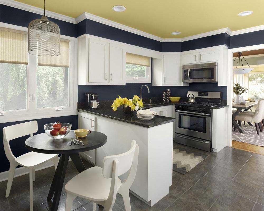 Cara-Dekorasi-Dapur-Kecil-dengan-ruang-makan