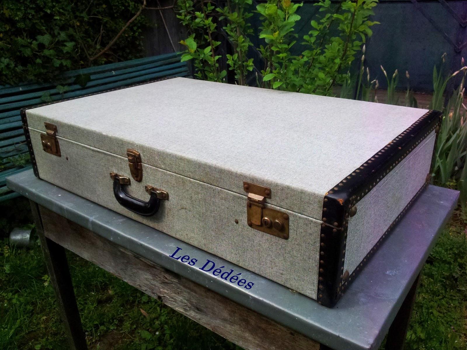 Malle Comme Table Basse les dedees : vintage, recup, creations: belle valise- malle