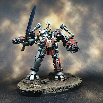 Grey Knights Grand Master in Nemesis Dreadknight Armor