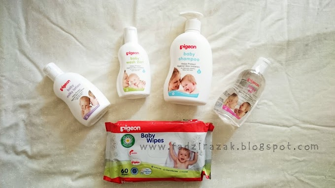 Pigeon Baby Care – Produk Penjagaan Bayi Dari Jepun