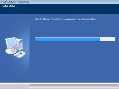 How To Install Driver Sharp MX-M1054