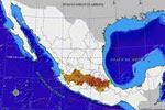 El Eje Neovolcánico o Sistema Volcánico Transversal, una de las principales cordilleras de México